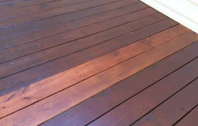 deck maintenance & cleaning